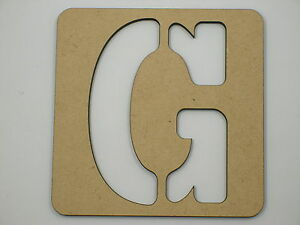 60cm Large Wooden Letter Stencil Letters Alphabet Name Wedding Home Decor STE