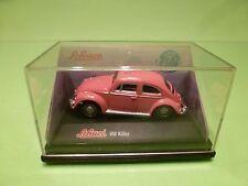 SCHUCO JUNIOR 36118 VW VOLKSWAGEN BEETLE KAFER - PINK 1:72 - NEAR MINT IN BOX