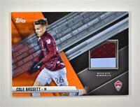 2021 MLS Jersey Relics Orange #JR-CBA Cole Bassett /25 - Colorado Rapids
