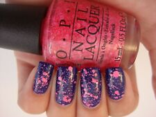 NEW! OPI Nail Polish Vernis ON PINKS & NEEDLES ~ Pink Glitter