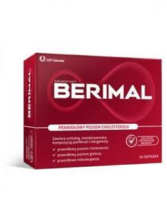 Berimal, 30 caps - obniza cholesterol , reduses cholesterol