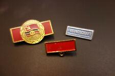 DDR Abzeichen der Stasi 3 Stück Freundschaft Deutsch-Sowjetische Freundschaft