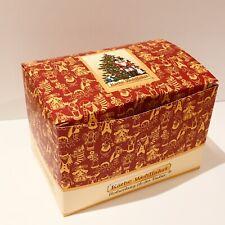 "Käthe Wohlfahrt Small Christmas Box 14x9.5x9.5 cm/5.5x3.75x3.75"" ~ Foldable ~NEW"