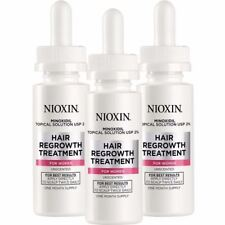 NIOXIN Minoxidil Hair Regrowth Topical Solution USP 2% for women 6 floz