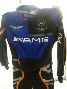 AMG GO KART RACE SUIT CIK/FIA LEVEL 2 APPROVED WITH FREE GIFTS INCLUDED