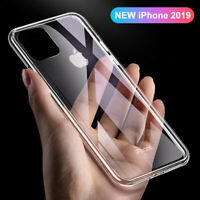 For iPhone 11 Pro Max XR XS 8 7 6s Shockproof TPU Case Slim Clear Soft Cover CA
