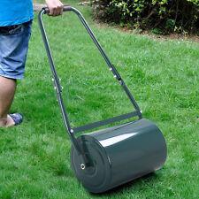 30L Heavy Duty Steel Water or Sand Filled Garden Grass Lawn Roller