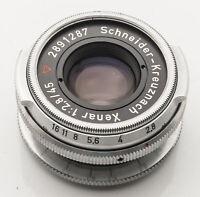 Schneider Kreuznach Xenar 1:2.8 2.8 45mm 45 mm für Aka Rette Akarette