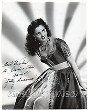 JODY LAWRANCE 1951 Autographed PORTRAIT Coburn