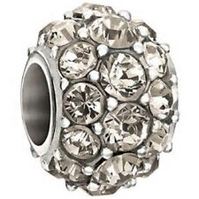 AUTHENTIC CHAMILIA STERLING SILVER SPLENDOR GRIEGE SWAROVSKI BEAD NEW 2025-0910