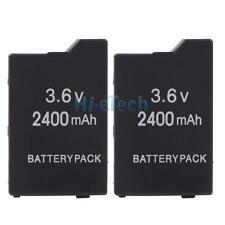 Lot2 New 2400mAh Rechargeable Battery Pack for Sony PSP 2000 3000 Slim Lite UK