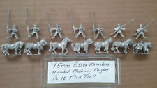15mm Essex Miniatures Mounted Medieval Knights