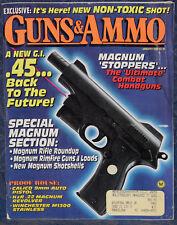 Magazine GUNS & AMMO Jan 1992 WINCHESTER Model 1300 Stainless Marine, SIG P-210