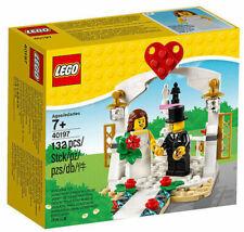 Lego 40197 Wedding Favor Set Bride & Groom 2 Minifigure Cake Topper New with Box