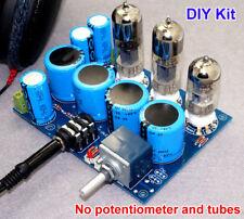 6N6n x2 + E88CC WCF Class A Pure Tube Headphone Amplifier DIY Kit HiFi Audio Amp