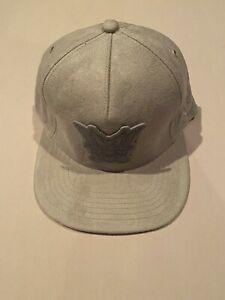 New COOKIES SF Gray Hat Cap 7 3/8 SNAPBACK