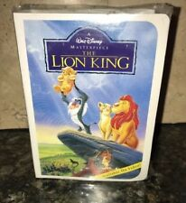 1996 Disney Masterpiece The Lion King Figure McDonalds Happy Meal Toy VHS box