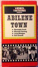 Abilene Town (VHS 1985) Western B&W 1945 Randolph Scott Ann Dvorak Lloyd Bridges