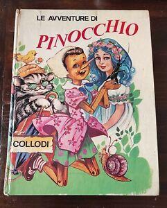 LIBRO LE AVVENTURE DI PINOCCHIO di CARLO COLLODI 1967 EDIZIONI PAOLINE