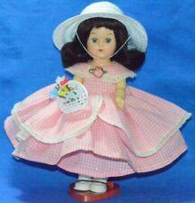"""Vintage 8"""" Virga Walker Doll in Beautiful Vintage Summer Dress"""