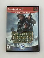 Medal of Honor: Frontline (Greatest Hits) - Playstation 2 PS2 -Complete & Tested