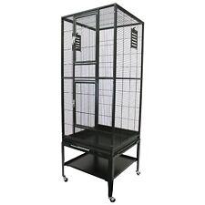 Madagascar Cage - Durable Spacious Metal Cage - Sugar Glider, Squirrel, Marmoset