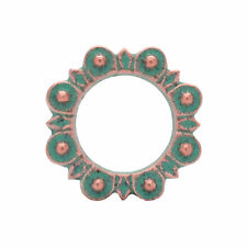 "Flat Ring Copper Patina 1"" (2.5 cm) 1311-90"