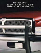 1994 Dodge RAM PICKUP TRUCK ACCESSORIES / OPTION Brochure / Catalog:WINCH,RACK,