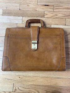 Renwick Vintage Leather Briefcase