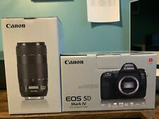 New listing Canon Eos 5D Mark Iv 30.4Mp Digital Slr Camera with Ef 70-300mm Zoom Lens