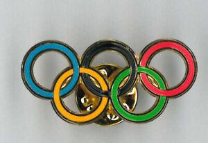 Olympic Games pin - small rings - badge