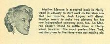Movie Life Vol 19 #2 January 1956 James Dean, Marilyn Monroe