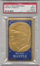 1965 Topps Embossed #11 MICKEY MANTLE PSA 9 OC No 10's Only One 9