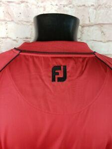 FootJoy FJ Supersoft Windshirt Mens Large Short Sleeve V-Neck Golf Pullover