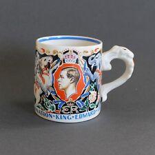 1937 Coronation King Edward VIII, Dame Laura Knight Mug Cup St George Dragon