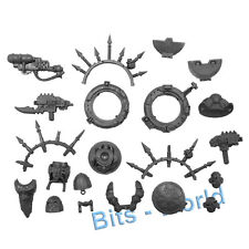 WARHAMMER 40K BITS: CHAOS SM RHINO - Marine w/ Stormbolter/Hatches/Spikes