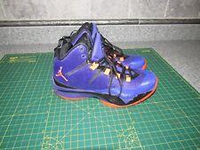 f3ccae86d8cab Nike Boy s Jordan Super Fly II Dark Concord Infrared Black 6y
