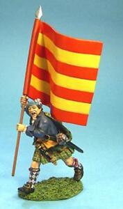 JOHN JENKINS JACOBITE REBELLION JR-10 HIGHLAND LOCHIEL'S REGT FLAG BEARER MIB