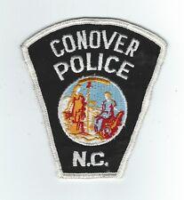 VINTAGE CONOVER, NORTH CAROLINA POLICE (CHEESE CLOTH BACK) patch
