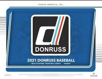 2021 Donruss Baseball MLB Red, Pink, Orange, Vectors, Inserts -Complete your Set