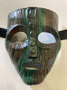 Maschera Deluxe -Jim Carrey -The Mask -Costume- Vetroresina- Resistentissimo