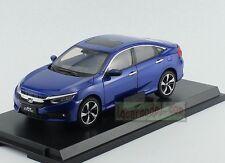 1/18 Scale New Honda Civic 10th MK10 Generation Car Model Diecast