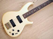 1980s Aria Pro II SB Elite II Vintage Neck Through Bass Pearl White Japan