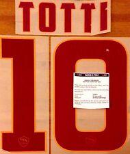 2014-15 como Roma Lejos Camiseta Totti #10 conjunto de número de nombre oficial stilscreen