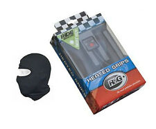 NEW R&G HEATED MOTORBIKE / MOTORCYCLE HOT GRIPS PLUS FREE BALACLAVA IDEAL GIFT