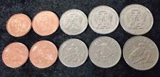 B-D-M St. Thomas & Prince 2018 set 5 monedas 10 20 50 Centimos 1 2 Dobras UNC