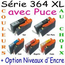Cartouches encre compatible HP 364XL imprimante DeskJet OfficeJet Photosmart Psc