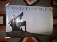 Christine Mcvie Original 1984 Promo Poster - Free S&H