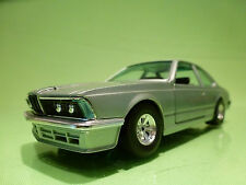 BBURAGO 0173 BMW 635 CSI - E24 - PALE GREEN METALLIC 1:26 - EXCELLENT