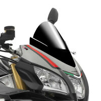 APRILIA TUONO V4 1100 RR / FACTORY 2015 > PUIG DOUBLE BUBBLE SCREEN BLACK RACING